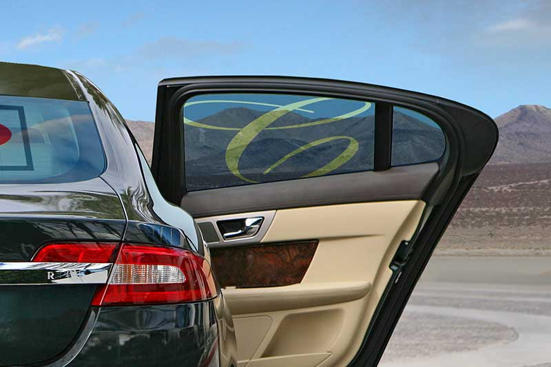 Vehicle applications window tinting
