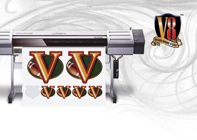 2005 Roland introduces V Technology with a new line of high-performance SOLJET inkjets, featuring Roland VersaWorks.
