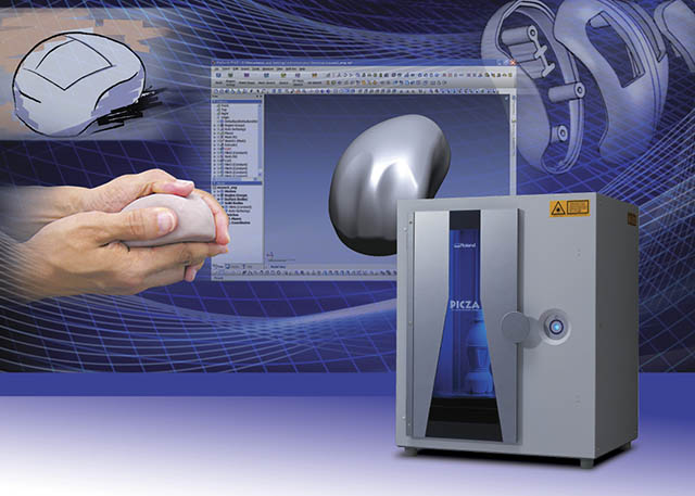 2007 Roland's introduces the new MDX-540S and MDX-540SA desktop mills and LPX scanners for 3D production made easy.