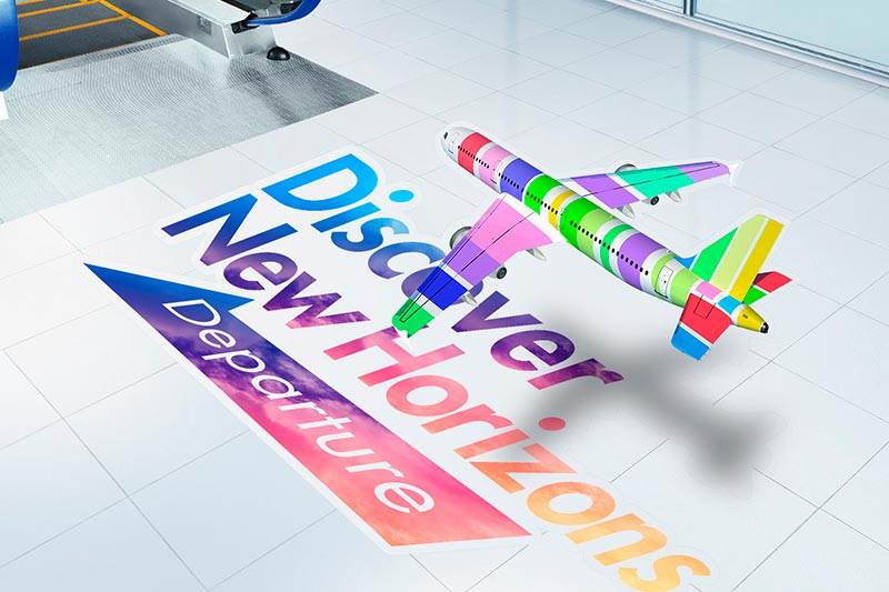 TrueVIS SG Series floor graphics
