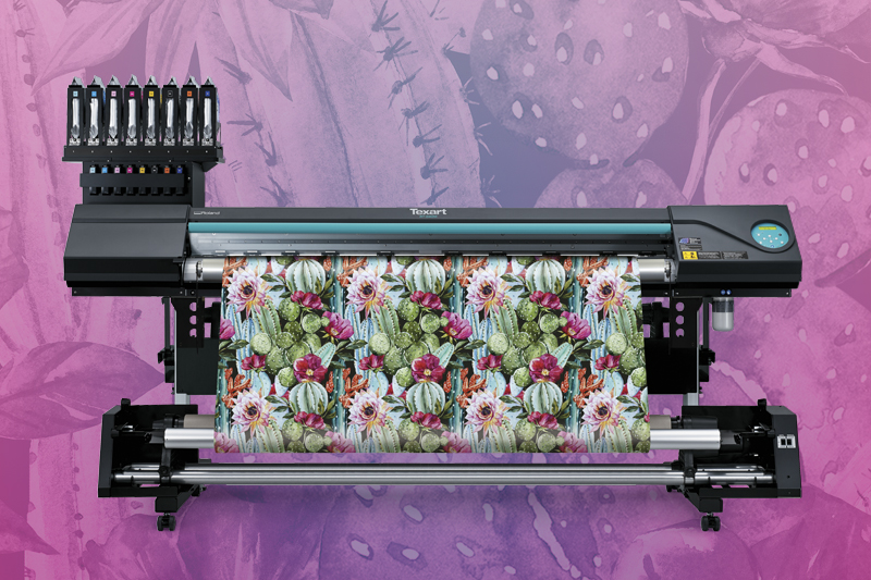 Texart RT-640M - All-In-One, Print onto transfer paper and direct-to-textile