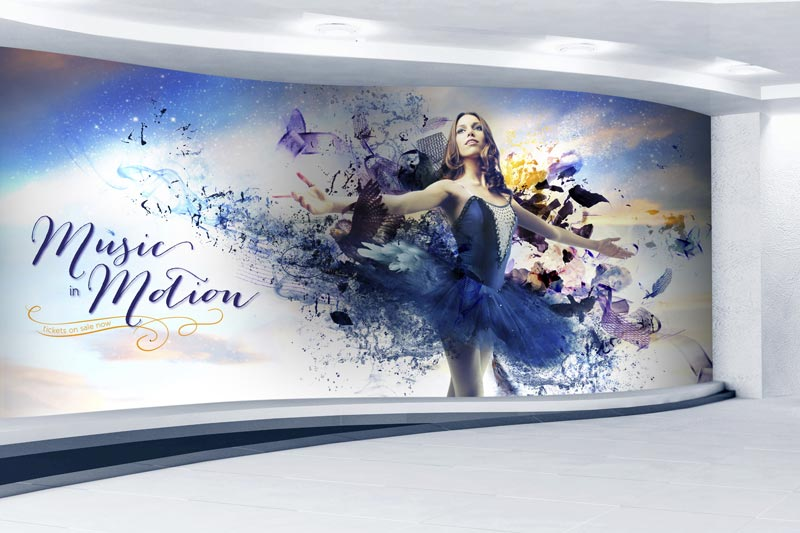 SG Series Printer/Cutters wall graphics and murals