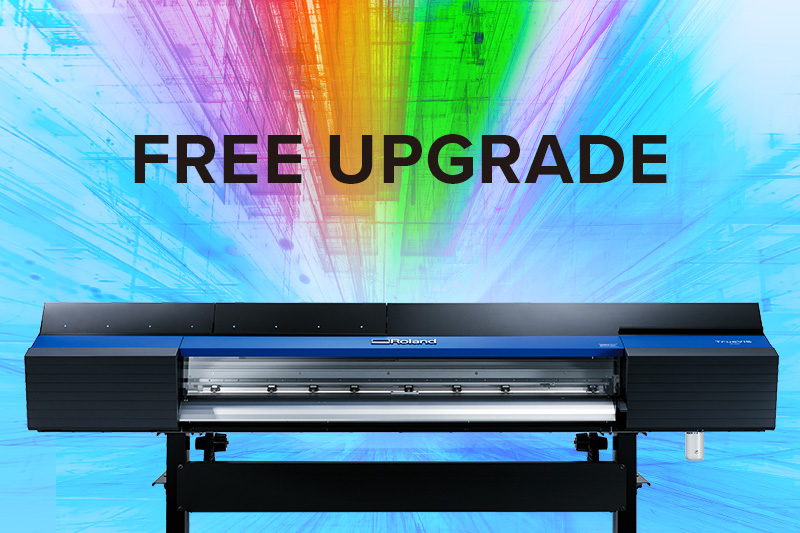TrueVIS VG Series FREE UPGRADE