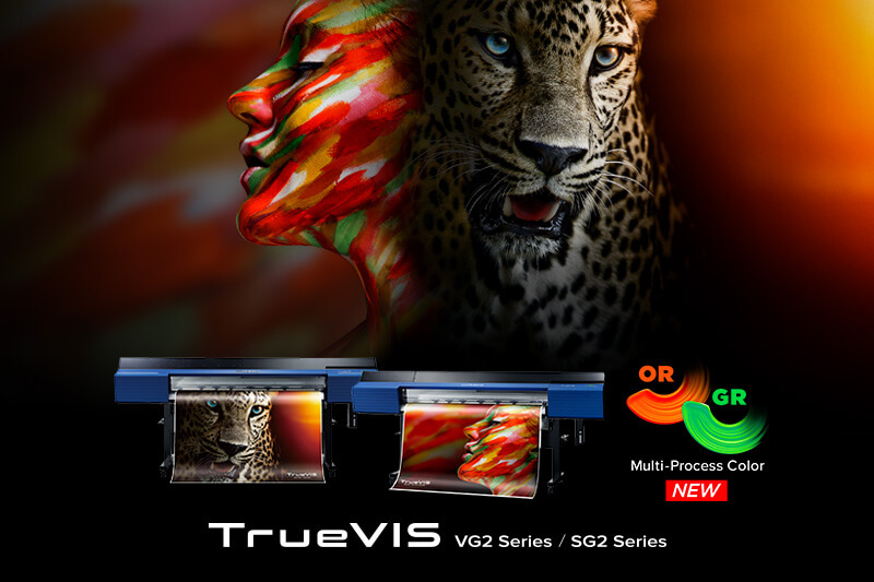 TrueVIS Series Printer/Cutters